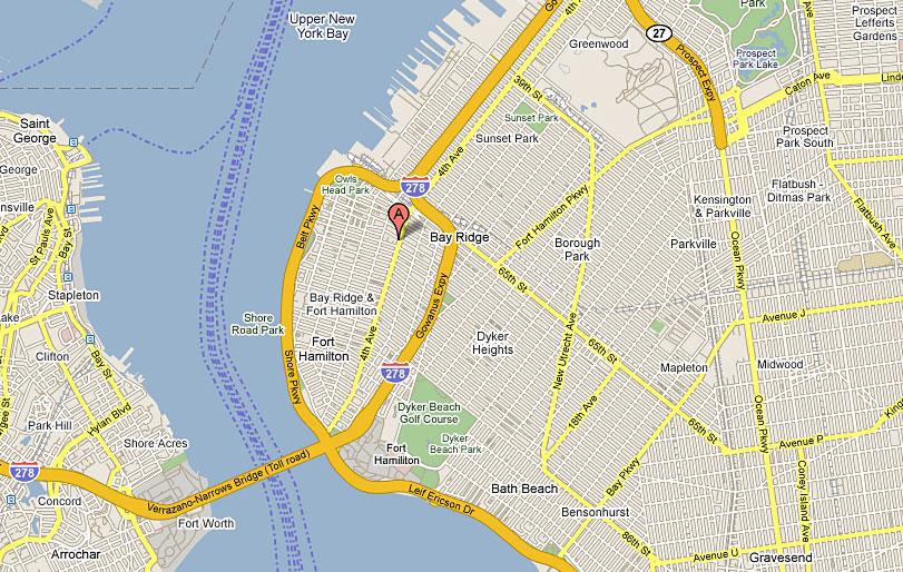 map of bay ridge brooklyn ny Dr Aron Weightlossnyc Medical Weight Loss Center Directions To map of bay ridge brooklyn ny