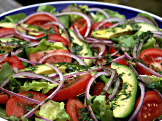 Avocado Garden Salad Healthy Food Ideas From Dr Aron Weight Loss Center