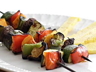 grilled BBQ vegetables